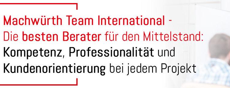 Machwürth Team International - Die besten Berater für den Mittelstand