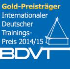Goldpreisträger beim Internationalen Deutschen Trainings-Preis 2014/15