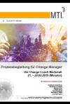 Flyer Prozessbegleitung für Change Manager