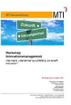 Flyer Workshop Innovationsmanagement